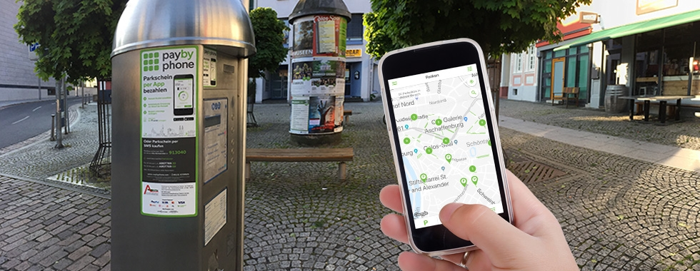 Smart Parken in Aschaffenburg